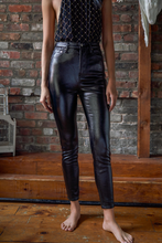 Load image into Gallery viewer, free people phoenix coated skinnies