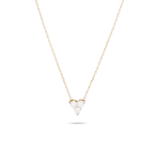 Load image into Gallery viewer, diamond cluster necklace