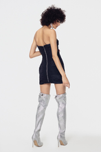 Load image into Gallery viewer, for love and lemons celeste moire bow dress