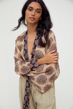 Load image into Gallery viewer, free people kantha shimmer kimono