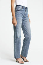 Load image into Gallery viewer, pistola cassie super high rise straight leg jeans