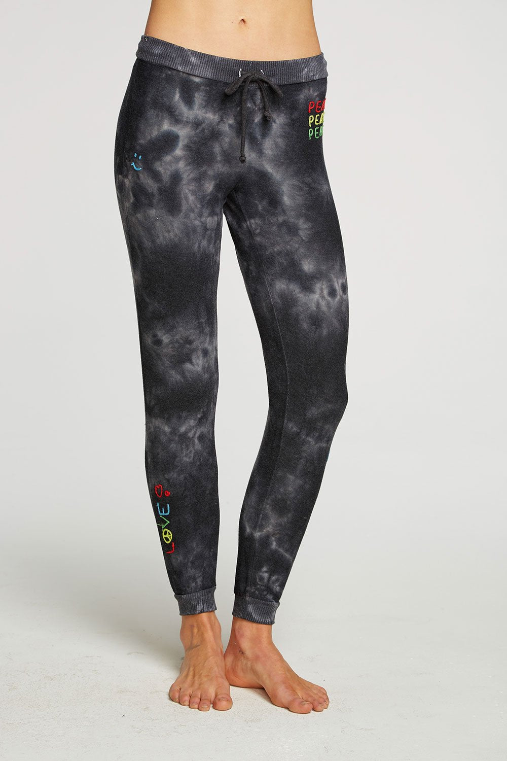 chaser rasta peace pants