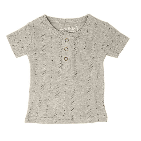 l'ovedbaby pointelle henley tee
