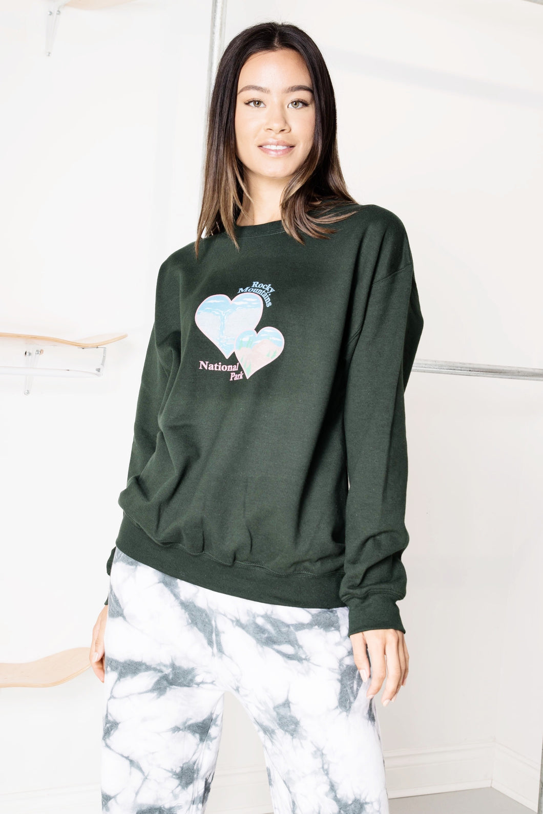 daisy street rocky mountains sweatshirt