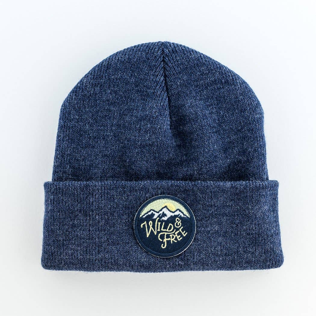 seaslope youth/adult beanie with patch