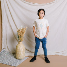 Load image into Gallery viewer, Rags Short Sleeve Rounded Tee - 'Greetings from the West'