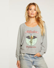 Load image into Gallery viewer, chaser motley cru bliss knit cropped pullover