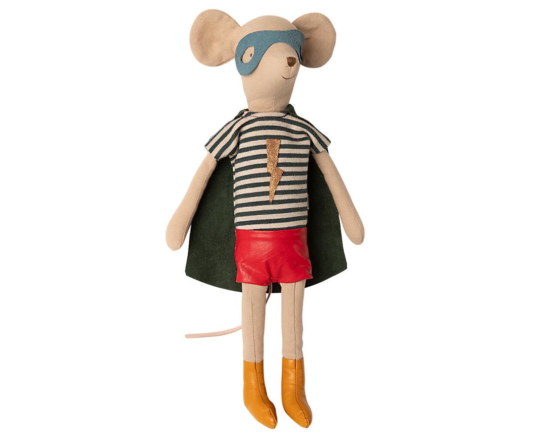 maileg super hero medium boy mouse