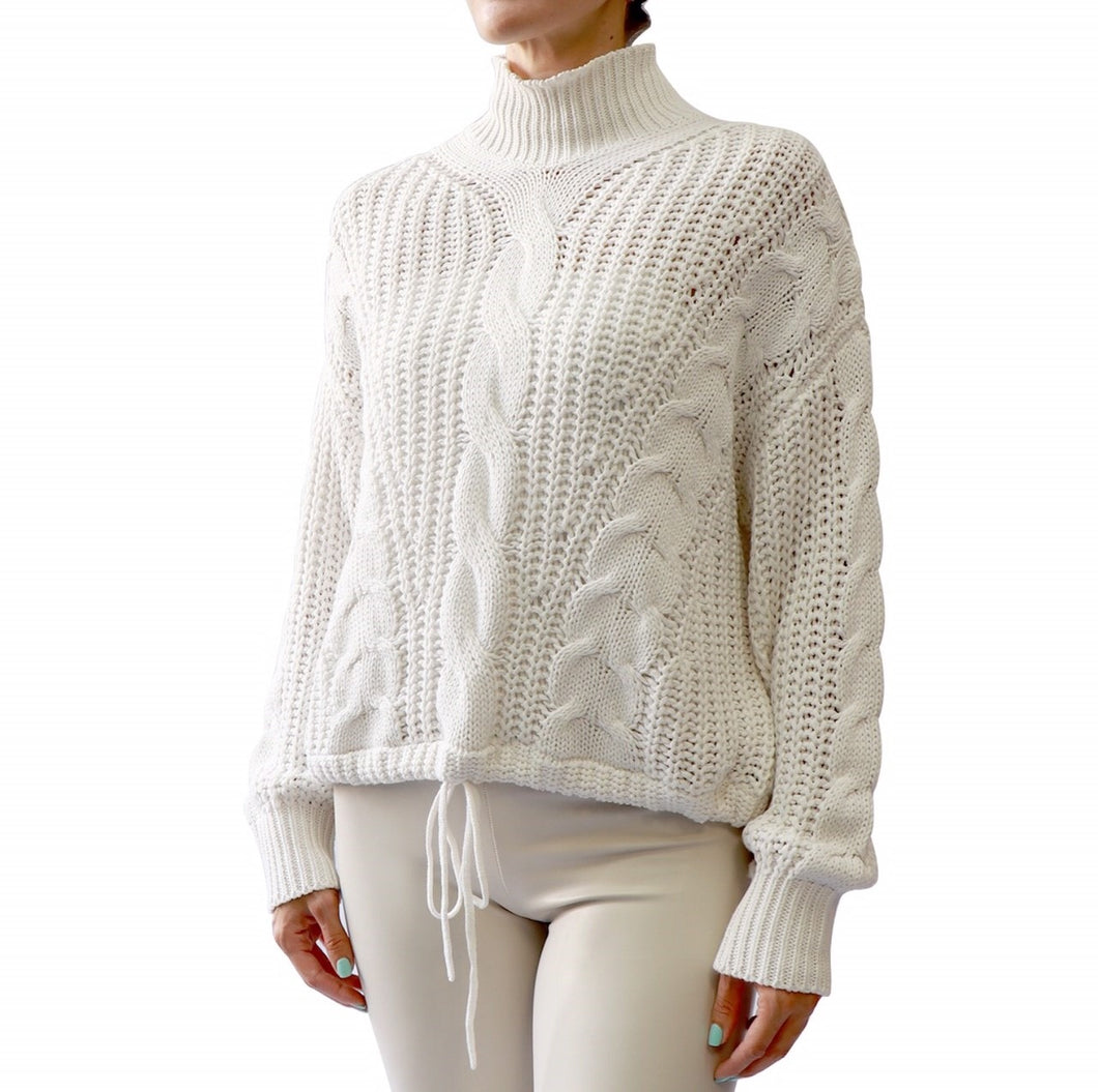 rd style cable chunky knit sweater