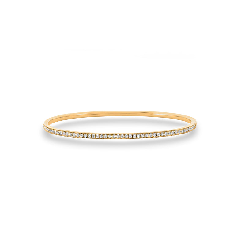 Dracakis 18ct Yellow Gold Brilliant Cut Diamond Bangle