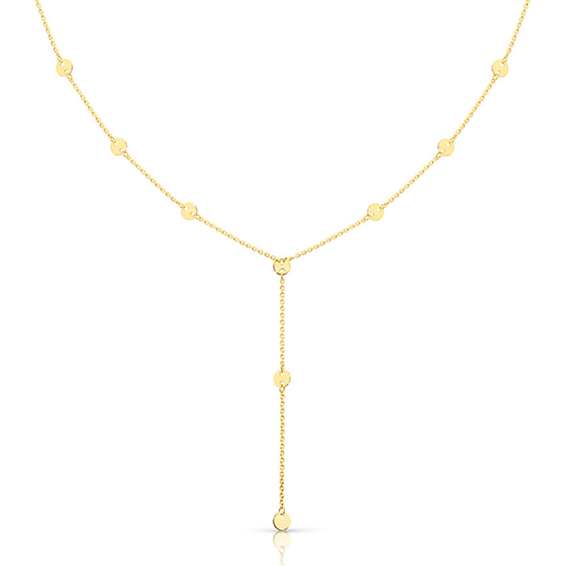 Dracakis 9ct Yellow Gold 45cm Lariat Necklace