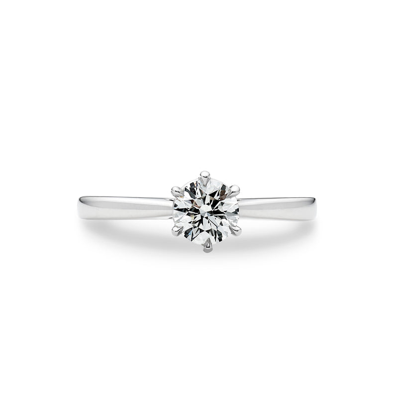 Round Brilliant Cut Diamond Solitaire Engagement Ring