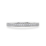 Dracakis 18ct White Gold & Diamond Wedding Ring
