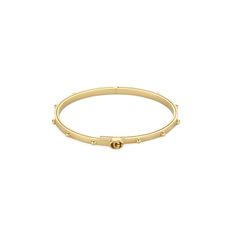 Gucci GG Running Bracdelet in Yellow Gold