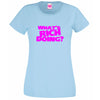 What's Rich Doing? T Shirt Lady Fit