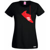Hanging Weightlifting Shoe T Shirt