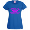Property Of Warrior Princess T Shirt Lady Fit