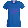Kettle Bell Heart T Shirt Lady Fit