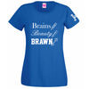 Brains Beauty Brawn - Sarah Davies T Shirt