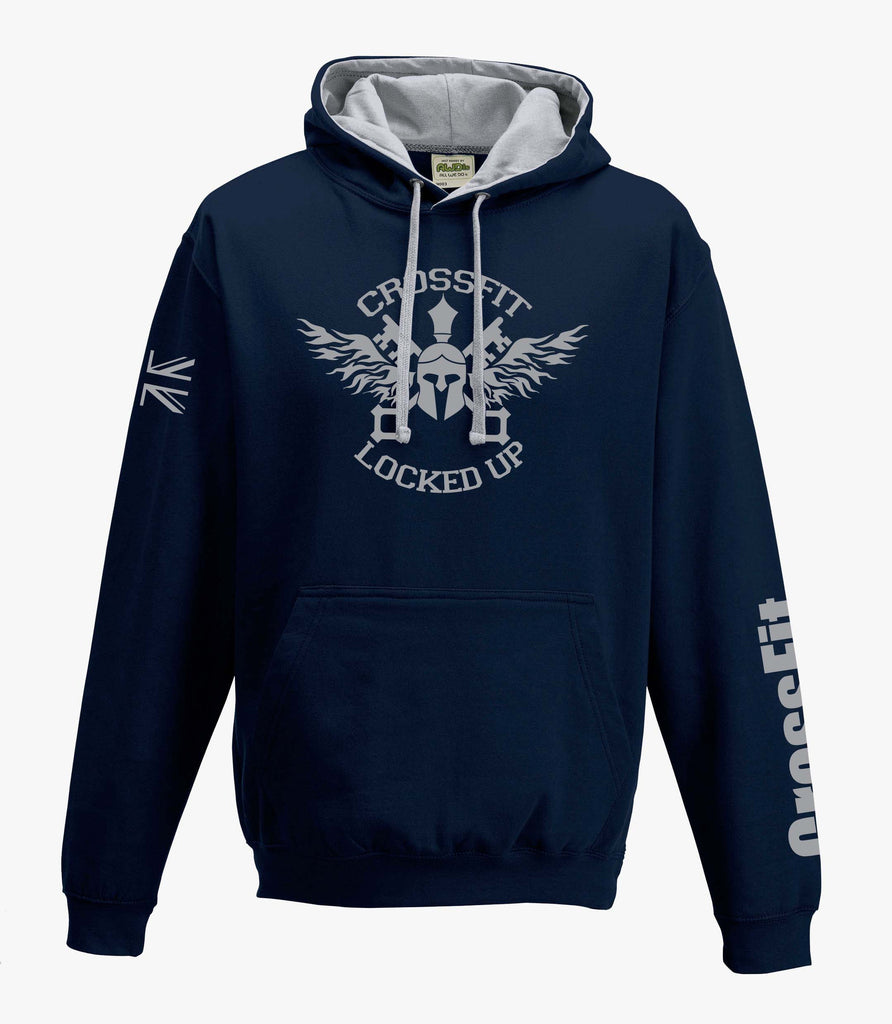 CrossFit Locked Up Navy Hoodie