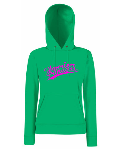Warrior Princess 50s Baseball Lady Fit Hoodie (Hooded Sweatshirt)