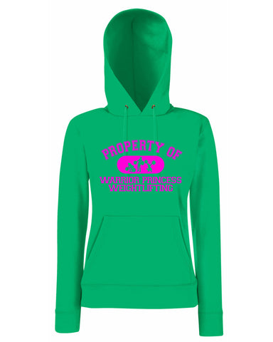 Property of Warrior Princess Lady Fit Hoodie (Hooded Sweatshirt)