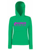 Warrior Princess Logo Lady Fit Hoodie (Hooded Sweatshirt)