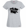 Warrior Princess Paint Splat Logo T-Shirt