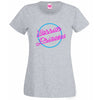 Neon Lights Warrior Princess T Shirt