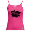 Warrior Princess Paint Splat Logo Vest