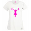 Classic Women Symbol Lifting Lady's T -Shirt