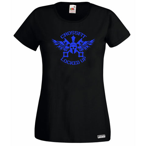 CrossFit Locked Up Custom Colour T Shirt Style 1 Mens