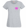 CrossFit Locked Up T-Shirt Custom Name on Back Style 2 PINK