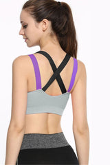 AFC Cross Sports Bra Grey - All Fitness Company
