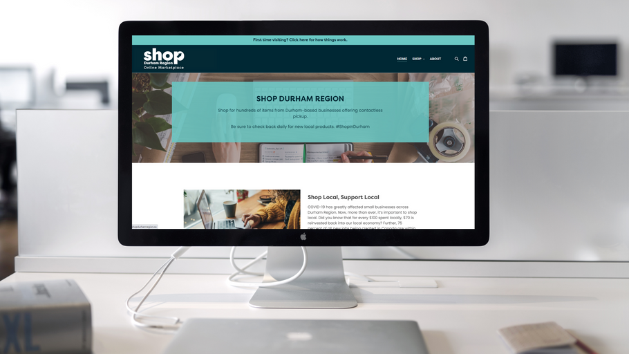 Shop Durham Region Online Marketplace now live