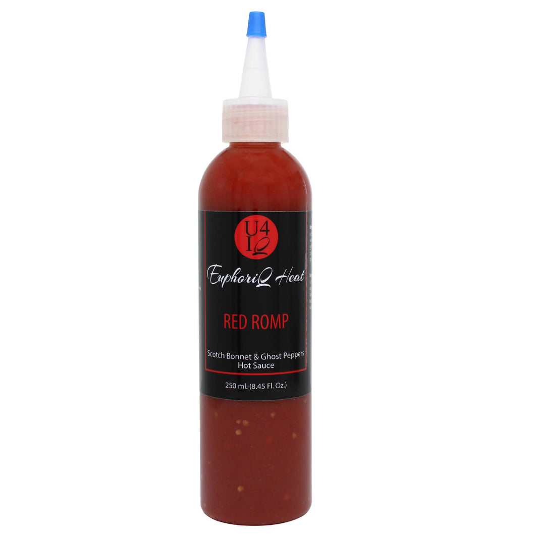 U4IQ Heat Red Romp Hot Sauce