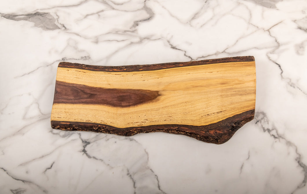 Almost Straight - Black Walnut Grazing Board