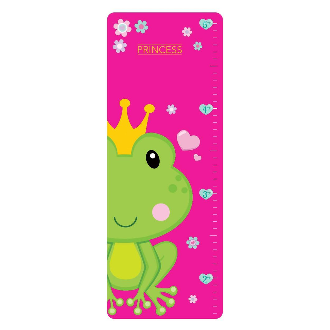 Princess Vinyl Growth Chart - Frog