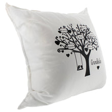 Load image into Gallery viewer, Pressed Out Creations Family Tree Pillows - Custom Pillow With Family Names