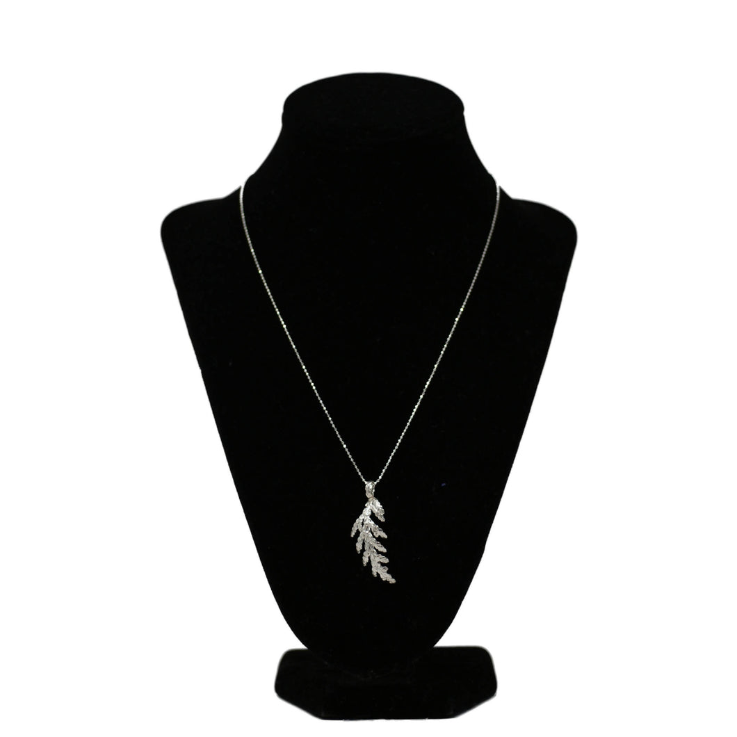 Kyla Vitek Jewellery - Silver Cedar Necklace