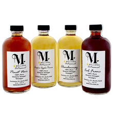 Load image into Gallery viewer, Local Artisanal Vinegar - 100% Pure Wine Vinegars - 4 Pack