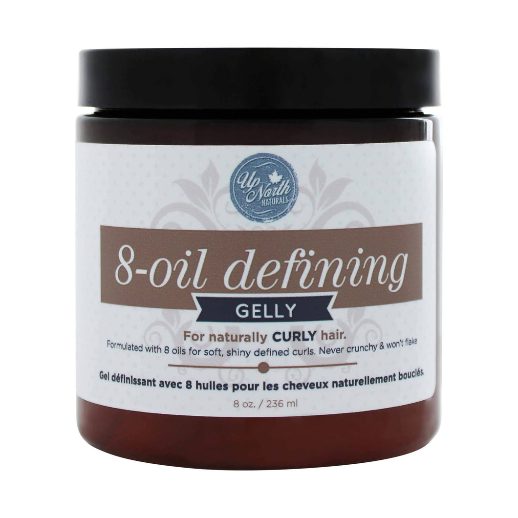 8-Oil | Defining Hair Gelly for Naturally Curly Hair