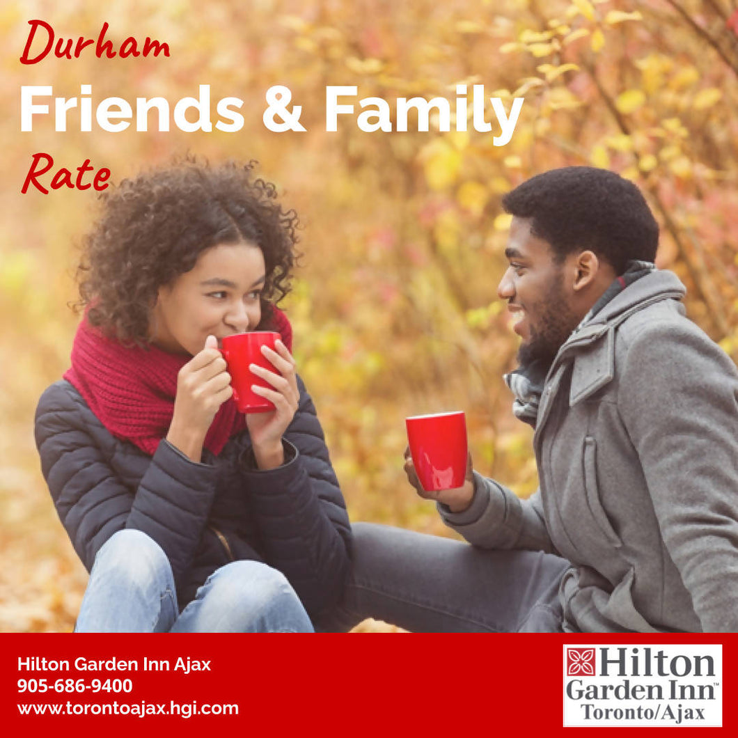Durham Friends & Family Rate