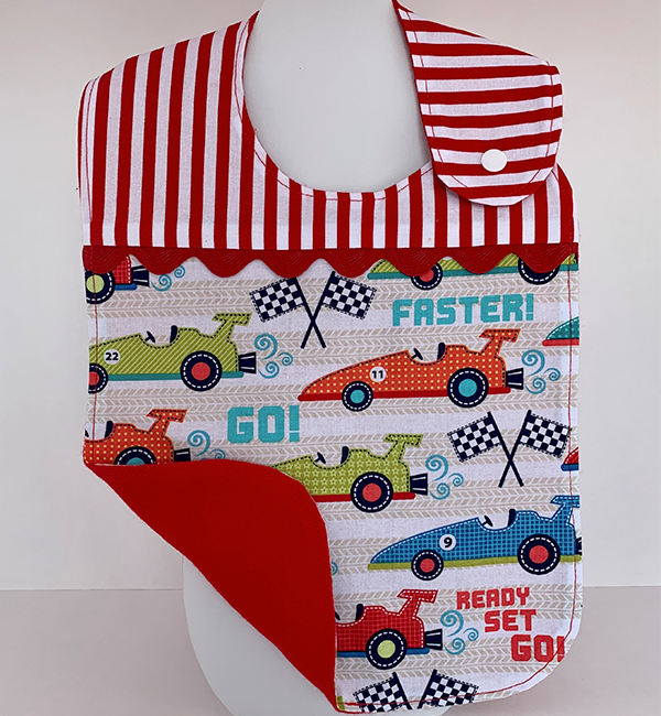 Toddler Bib - Ready Set Go!