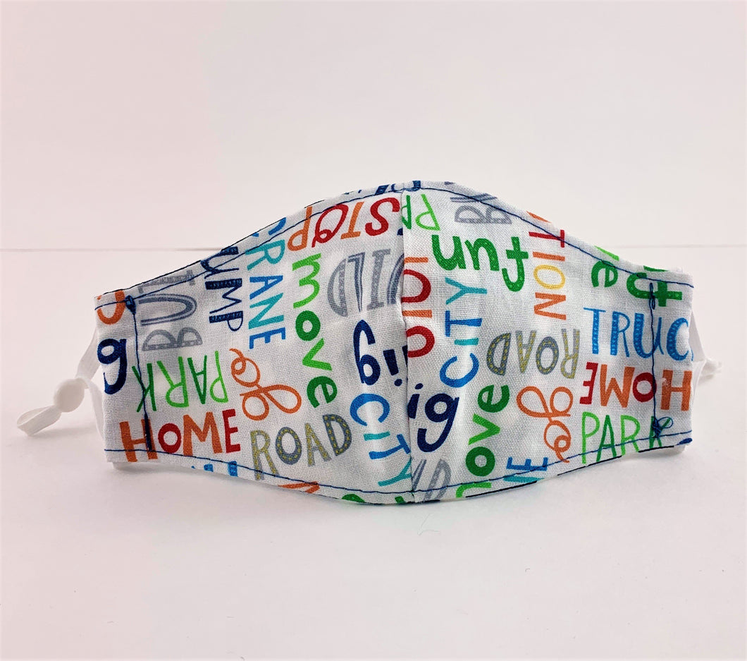 Construction Words Mask