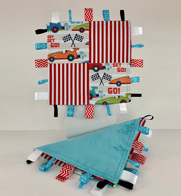 Taggie Blanket - Ready Set Go