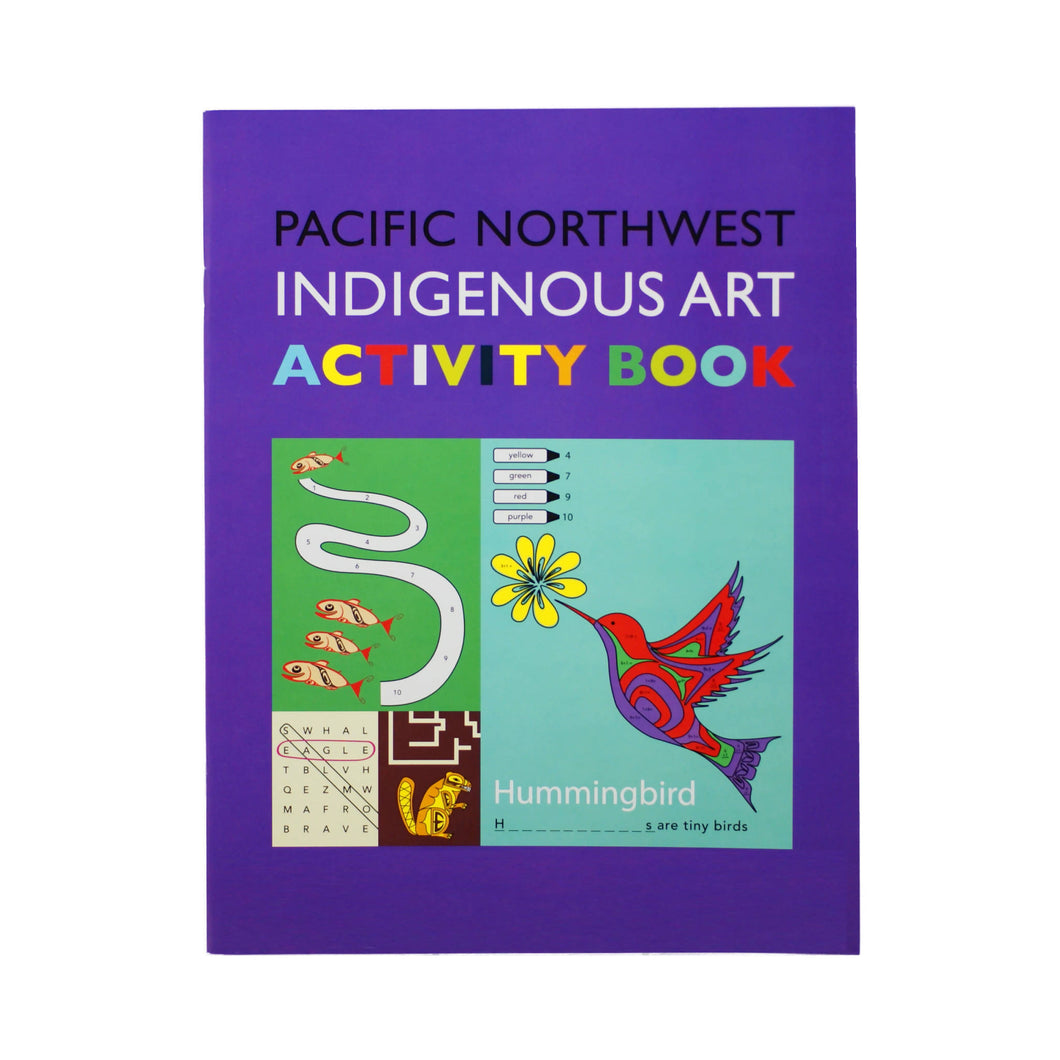 Pacific Northwest Indigenous Activity Book