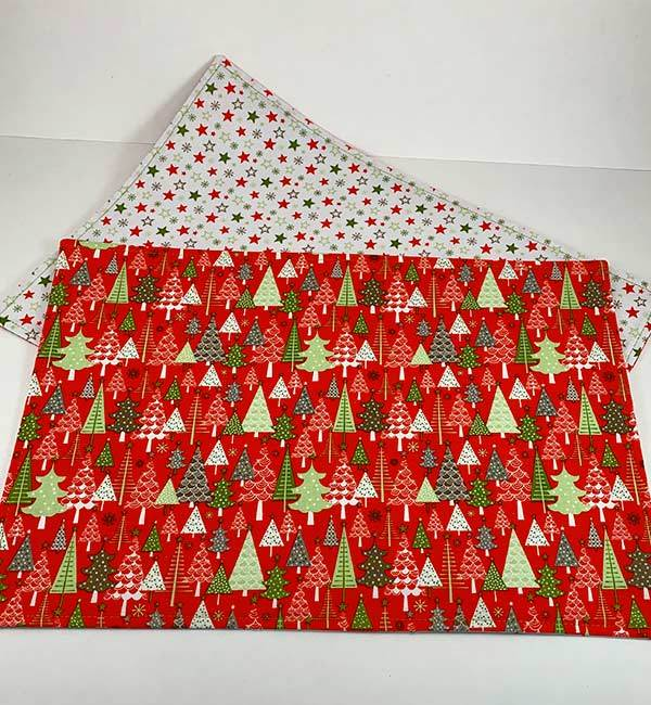 Placemats - Christmas Trees