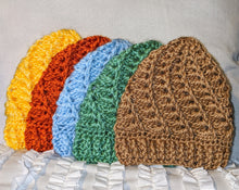 Load image into Gallery viewer, Crocheted Baby Hats