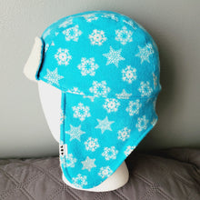 Load image into Gallery viewer, Snowflake Aviator Hat